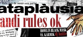 Cataplàusia + Ghandi Rules OK + Howlin Black Mask vs Karmik